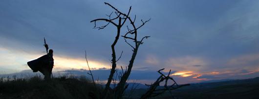 Himno peregrinando. Piedrafita do Cebreiro