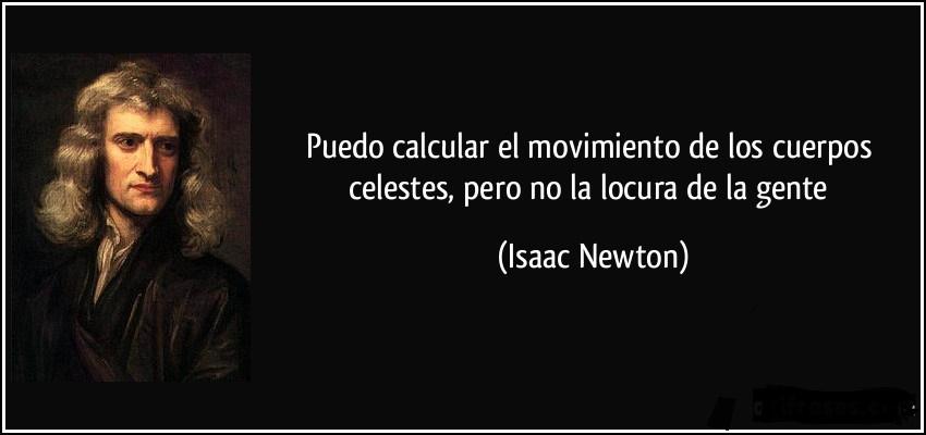 Isaac Newton. Siniestro de Germanwings
